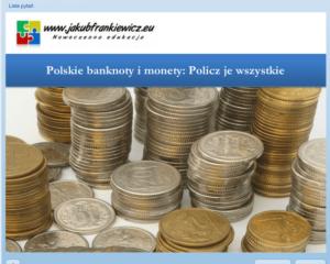Polskie monety i banknoty – Policz je wszystkie (Gra – Quiz)