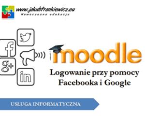 Moodle: Logowanie przy pomocy Facebooka i Google