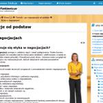 Negocjacje od podstaw (warsztaty elearning)