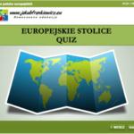 Europejskie stolice – Interaktywny quiz (Gra – Quiz)