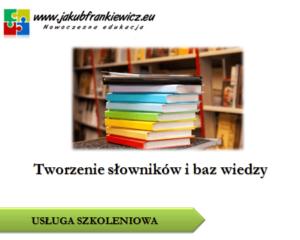 Tworzenie słowników i baz wiedzy