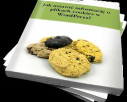 Jak ustawić informację o plikach cookies w WordPress? (Ebook)