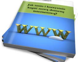 Jak tanio i korzystnie kupić nową domenę internetową? (Ebook)