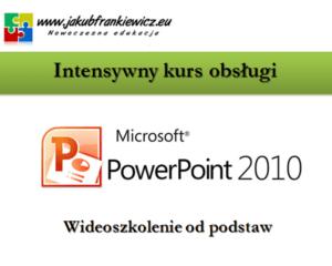 Intensywny kurs obsługi PowerPoint (Wideoszkolenie)