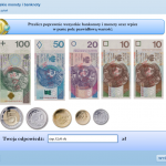 Rozpoznawanie autentyczności polskich znaków pieniężnych (E-learning)