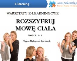 Rozszyfruj mowę ciała /PAKIET MODUŁ 1 - 3 (E-learning)