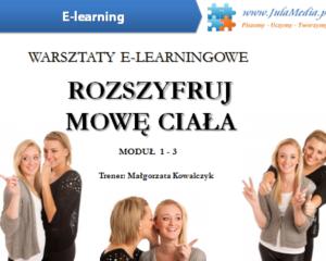 Rozszyfruj mowę ciała /PAKIET MODUŁ 1 – 3 (E-learning)