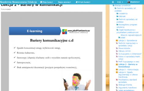 Techniki skutecznej sprzedaży od podstaw (E-learning)