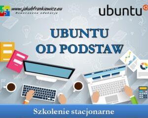Ubuntu od podstaw – szkolenie stacjonarne