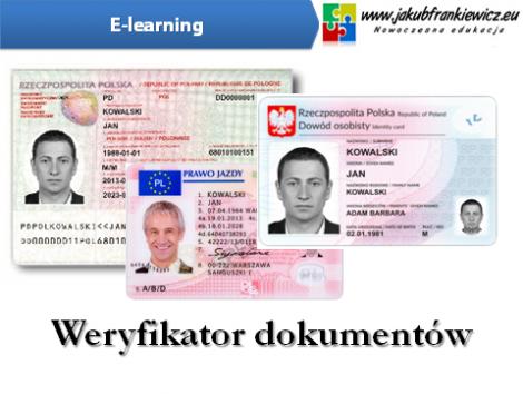Weryfikator dokumentów (E-learning)