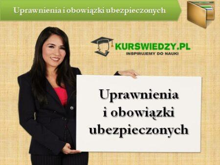 uprawnienia ubezpieczonych | KursWiedzy.pl