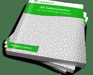 25 labiryntów do samodzielnego wydruku