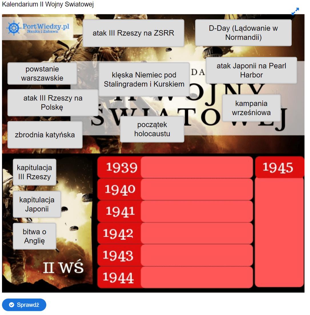 kalendarium-1 PortWiedzy.pl - Nauka i zabawa