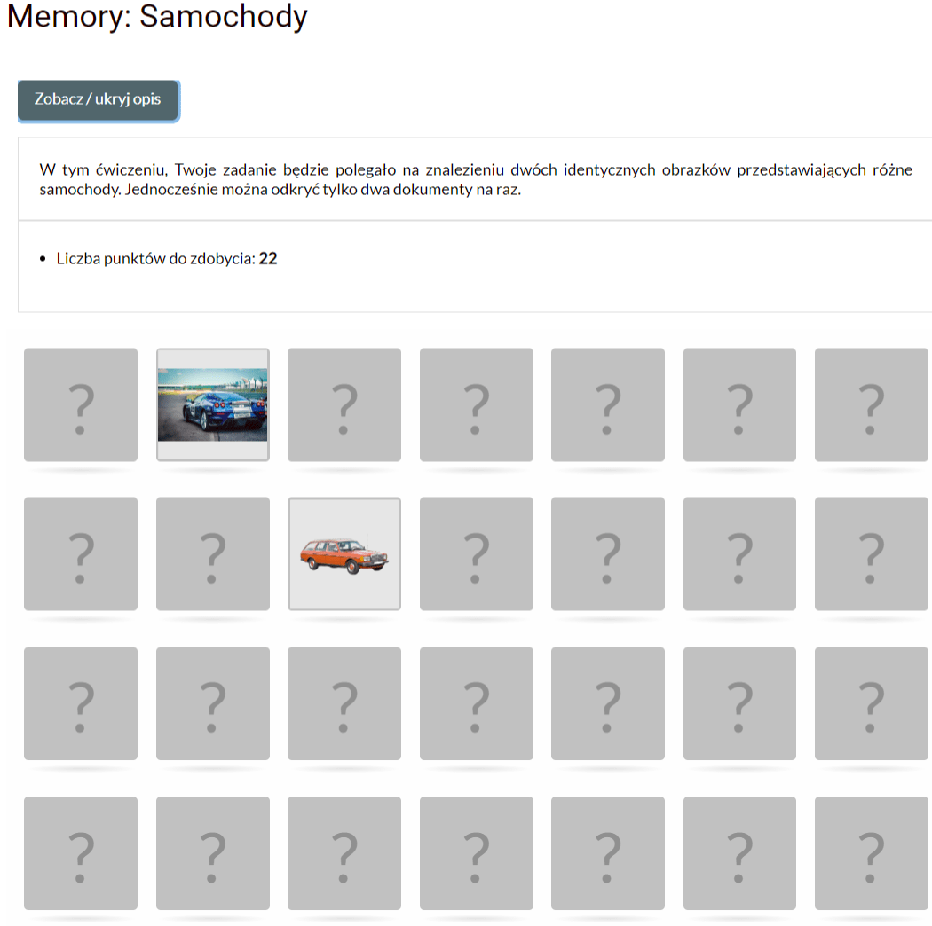 memory PortWiedzy.pl - Nauka i zabawa
