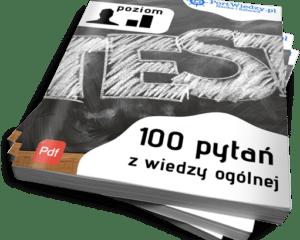 100 pytań z wiedzy ogólnej