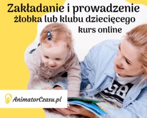 Zakładanie i prowadzenie żłobka lub klubu dziecięcego