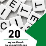20 wykreślanek do samodzielnego wydruku. Język niemiecki