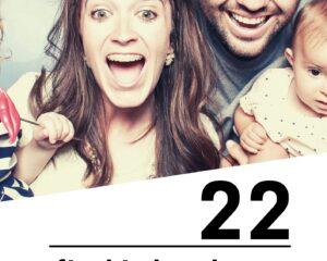 22 fiszki obrazkowe niemiecko-polskie: Rodzina