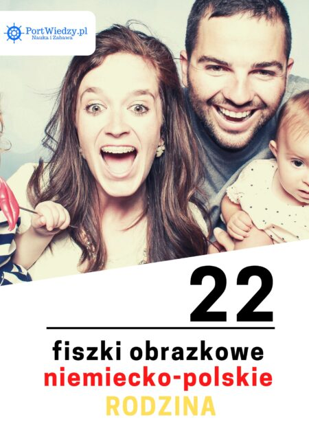 niemiecka rodzina fiszki   KursWiedzy.pl